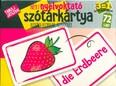 Német nyelvoktató szókártya kisiskolásoknak, kezdőknek