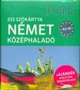 PONS Szókártyák - Német középhaladó 333 Szó