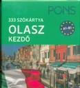PONS Szókártyák - Olasz Kezdő 333 Szó