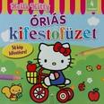 Hello Kitty: Óriás kifestőfüzet - 56 kép kifestésére!