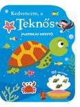 Kedvencem, a teknős - Matricás kifestő