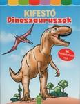 Kifestő: Dinoszauruszok - 96 kiszínezhető rajz