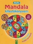 Első Mandala kifestőkönyvem - 4 éven felüli óvodás korúaknak