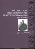 Kölcsey Ferenc összes költeményei