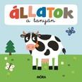 Állatok a tanyán - Képeskönyv kicsiknek - Összekapcsolható puzzle darabokkal