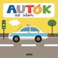 Autók az úton - Képeskönyv kicsiknek - Összekapcsolható puzzle darabokkal