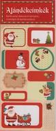 Ajándékcímkék - Karácsonyi dekoráció kártyára, csomagra & barkácsolásra