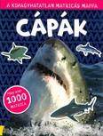 Cápák - A kihagyhatatlan matricás mappa /Több mint 1000 matricával