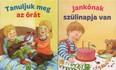 Minikönyvek: Tanuljuk meg az órát - Jankónak szülinapja van (2 minikönyv 1 csomagban)