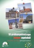 10 próbanyelvvizsga német nyelvből + cd /B1 szintű (TELC, ECL és Origó) nyelvvizsgára készülőknek