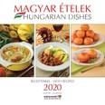 Magyar Ételek Receptekkel naptár 2020 30x30 cm