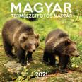 Magyar Természetfotós naptár 2021 29x29 cm