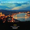Magyarország Csodái naptár 2021 29x29 cm