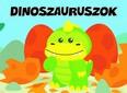 Dinoszauruszok - Pancsolókönyv szivaccsal