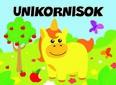 Unikornisok - Pancsolókönyv szivaccsal