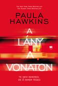 A lány a vonaton - Paula Hawkins - keménytáblás, piros borítós