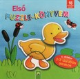 Első puzzle-könyvem - 5 oldalon 2-3 darabos kirakók