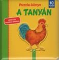 Puzzle-könyv: A tanyán - Játékra és tanulásra alkalmas