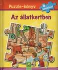 Puzzle-könyv: Az állatkertben - 6 kirakóval