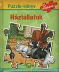 Puzzle-könyv: Háziállatok - 6 kirakóval