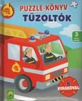 Puzzle könyv: Tűzoltók - 5 kirakóval