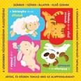 Puzzle-könyvek: Állatok /Számok, színek, első szavak, állatok