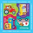 Puzzle-könyvek: Közlekedési eszközök /Formák, ellentétpárok, foglalkozások, óra