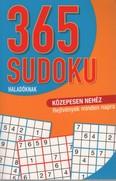 365 Sudoku haladóknak - Közepesen nehéz rejtvények minden napra (narancs)