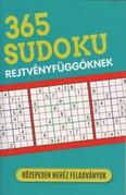 365 Sudoku rejtvényfüggőknek - Közepesen nehéz feladványok
