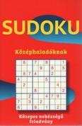 Sudoku középhaladóknak - Közepes nehézségű feladvány (piros)
