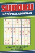 Sudoku középhaladóknak - Közepes nehézségű feladvány (zöld)