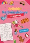 Szünidei rejtvénykönyv lányoknak - 5 éves kortól