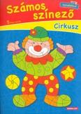 Számos színező - Cirkusz /Színskálával
