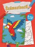 Számszínező - 5 éves kortól (papagáj)