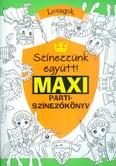 Színezzünk eggyütt! maxi partiszínezőkönyv - Lovagok