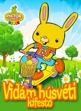 Vidám húsvéti kifestő - Piktor színező §H