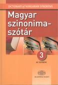 Magyar szinonimaszótár 3 az egyben
