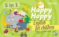 Happy Hoppy társasjáték - Sing, Play and Learn English /English for Children