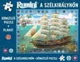 Rumini - A szélkirálynőn /Böngésző puzzle + plakát (társasjáték)