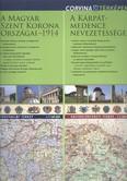 A Magyar Szent Korona országai 1914. - A Kárpát-medence nevezetességei /Kétoldalas falitérkép