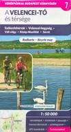 A Velencei-tó és térsége kerékpáros térkép - Székesfehérvár - Velencei-hegység - Váli-völgy - Közép-Mezőföld - Sárrét