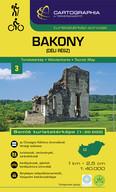 Bakony (déli rész) - Turistatérkép-sorozat 3.