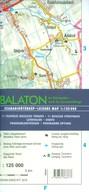 Balaton és környéke szabadidőtérkép 1:125 000