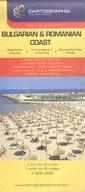 Bolgár-Román tengerpart 1:200 000 /Autótérkép