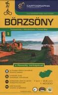 Börzsöny - a Naszály térképével - Turistatérkép-sorozat 5.