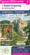 Budai-hegység és környéke kerékpáros és turistatérkép 1:42 000 - Zsámbéki-medence - Etyeki-dombság