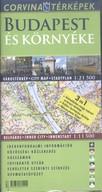 Budapest és környéke várostérkép 1:21500