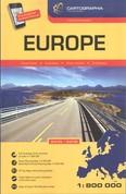 Európa autóatlasz 2015/2016 (1:800 000)