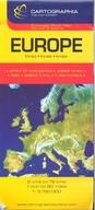 Európa térkép (1:3 750 000) /European Road Map