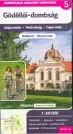 Gödöllői-dombság kerékpártérkép - Galga mente - Pesti-síkság - Tápió-vidék
